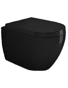 Bocchi Venezia Rimless 1295-005-0129 Унитаз подвесной, черный глянец