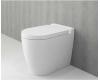 Bocchi Venezia 1301-001-0129 Унитаз приставной, белый глянец 001