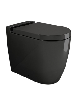 Bocchi Venezia 1301-005-0129 Унитаз приставной, черный глянец 005