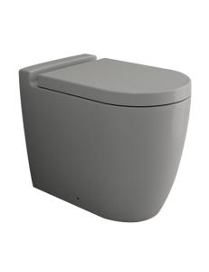Bocchi Venezia 1301-006-0129 Унитаз приставной, серый матовый