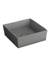 Bocchi Vessel 1173-006-0125 Раковина накладная 38 см, серый