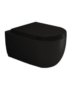 Bocchi V-Tondo 1416-004-0129 Унитаз подвесной, черный матовый