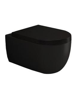 Bocchi V-Tondo 1416-004-0129 Унитаз подвесной, черный матовый 004