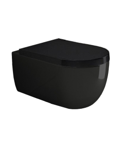 Bocchi V-Tondo 1416-005-0129 Унитаз подвесной, черный глянец