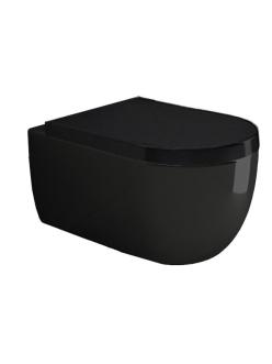 Bocchi V-Tondo 1416-005-0129 Унитаз подвесной, черный глянец 005