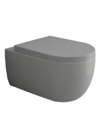 Bocchi V-Tondo 1416-006-0129 Унитаз подвесной, серый матовый