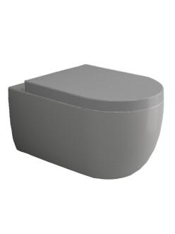 Bocchi V-Tondo 1416-006-0129 Унитаз подвесной, серый матовый 006