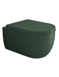 Bocchi V-Tondo 1416-027-0129 Унитаз подвесной, зеленый матовый