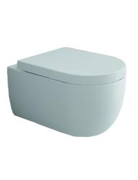 Bocchi V-Tondo 1416-029-0129 Унитаз подвесной, светло-голубой матовый