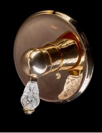 Boheme Crystal Gold 285-CRST Смеситель встроенный для душа