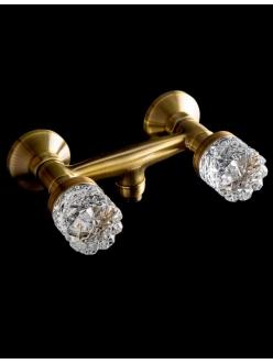 Boheme Crystal 314-CRST Смеситель для душа двуручковый (Бронза)