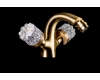 Boheme Crystal 316-CRST Смеситель для биде двуручковый (Бронза)