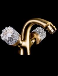 Boheme Crystal Bronze 316-CRST Смеситель для биде