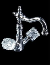 Boheme Crystal Chrome 272-CRST Смеситель для умывальника, высокий