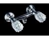 Boheme Crystal 274-CRST Смеситель для душа двуручковый (Хром)