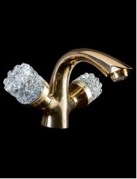 Boheme Crystal Gold 291-CRST Смеситель для умывальника
