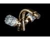 Boheme Crystal 296-CRST Смеситель для биде двуручковый (Золото)