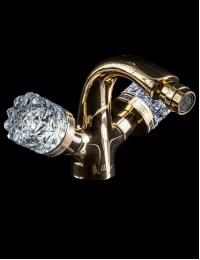 Boheme Crystal Gold 296-CRST Смеситель для биде