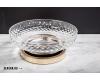 Boheme Crystal 10205-G Мыльница для ванной комнаты (Золото)