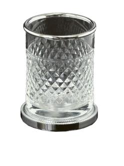 Boheme Crystal 10217-CH Стакан настольный для ванной комнаты (Хром)