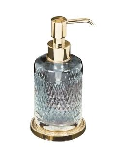 Boheme Crystal 10228-G Настольный дозатор для мыла из хрусталя (Золото)