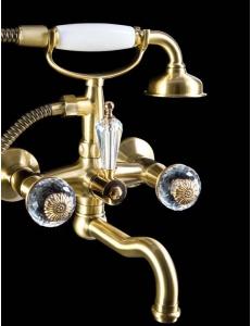 Boheme Flora Bronze 313-FL Смеситель для ванны, душевой комплект