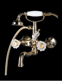 Boheme Camelia Gold 293-Camelia Смеситель для ванны, душевой комплект