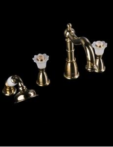 Boheme Camelia Gold 395-Camelia Смеситель на борт ванны