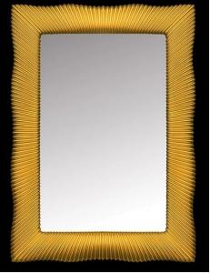 Boheme Soho 526 Зеркало, золото