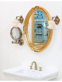 Boheme 511-G Зеркало в багетной раме (золото)
