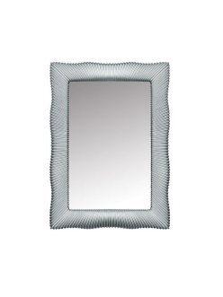Boheme 522 Зеркало с подсветкой в багетной раме (серебро)