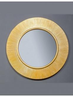 Boheme Shine 528-G light Зеркало с подвсветкой в багетной раме (золото)