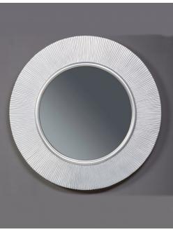 Boheme Shine 528-SL light Зеркало с подвсветкой в багетной раме (серебро)