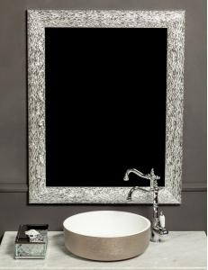 Boheme Linea 535 Зеркало, белый/серебро