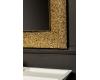 Boheme Aura 536 Зеркало с подсветкой в багетной раме (золото)