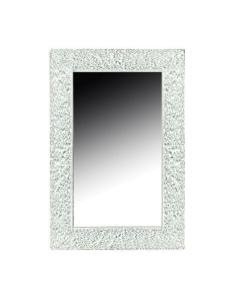 Boheme Aura 537 Зеркало с подсветкой, белый глянец