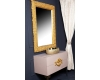 Boheme Rose 548 Зеркало в багетной раме 85 см (золото)