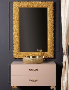 Boheme Rose 539 Зеркало, золото