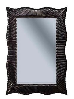 Boheme Soho 558 Зеркало с подсветкой в багетной раме (черный)