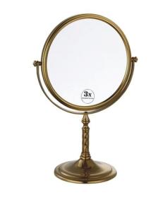 Boheme Medici 502 Косметическое зеркало настольное с оптическим увеличением, бронза