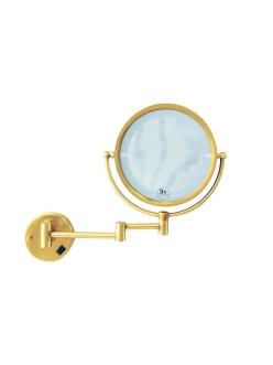 Boheme Imperiale 503 Косметическое настенное зеркало с оптическим увеличением +3x (Золото)