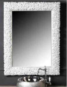 Boheme Rose 549 Зеркало 85 см, белый