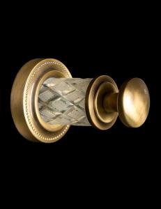 Boheme Murano Crystal 10906-CRST-BR Крючок для ванной