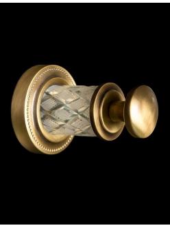 Boheme Murano Crystal 10906-CRST-BR Крючок для ванной комнаты (Бронза)
