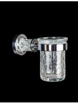 Boheme Murano Crystal 10904-CRST-CH Стакан для зубных щеток (Хром)