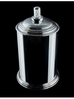 Boheme Murano Crystal 10907-CRST-CH Ведро для ванной металлическое (Хром)