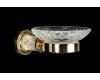 Boheme Murano Crystal 10903-CRST-G Мыльница для ванной комнаты (Золото)