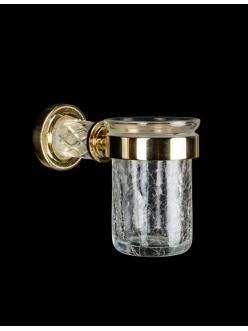Boheme Murano Crystal 10904-CRST-G Стакан для зубных щеток (Золото)
