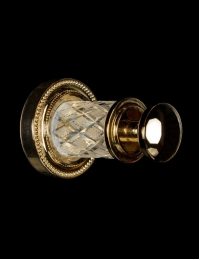 Boheme Murano Crystal 10906-CRST-G Крючок для ванной