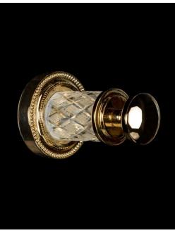 Boheme Murano Crystal 10906-CRST-G Крючок для ванной комнаты (Золото)